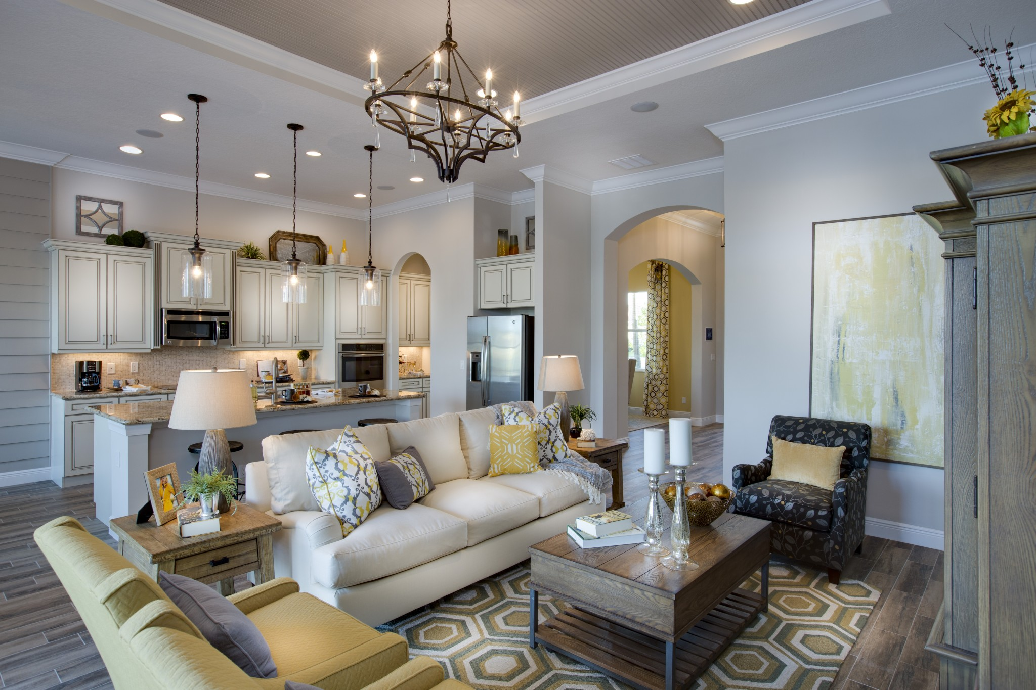 Model home decorating designed to the nines model home decor day model homes always - Who decorates model homes image ...