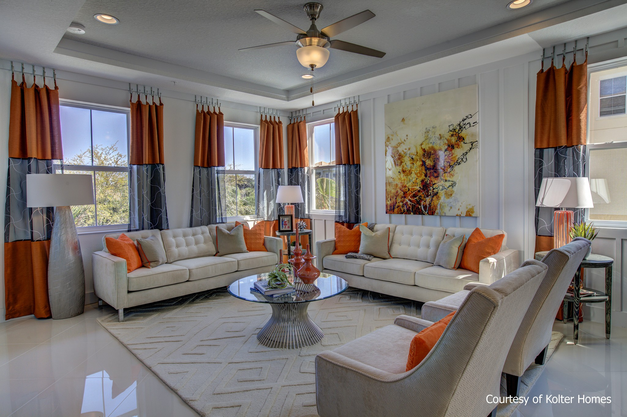 Grande Oaks at Heathrow - Kolter Homes - Evergreen Model | Design ...