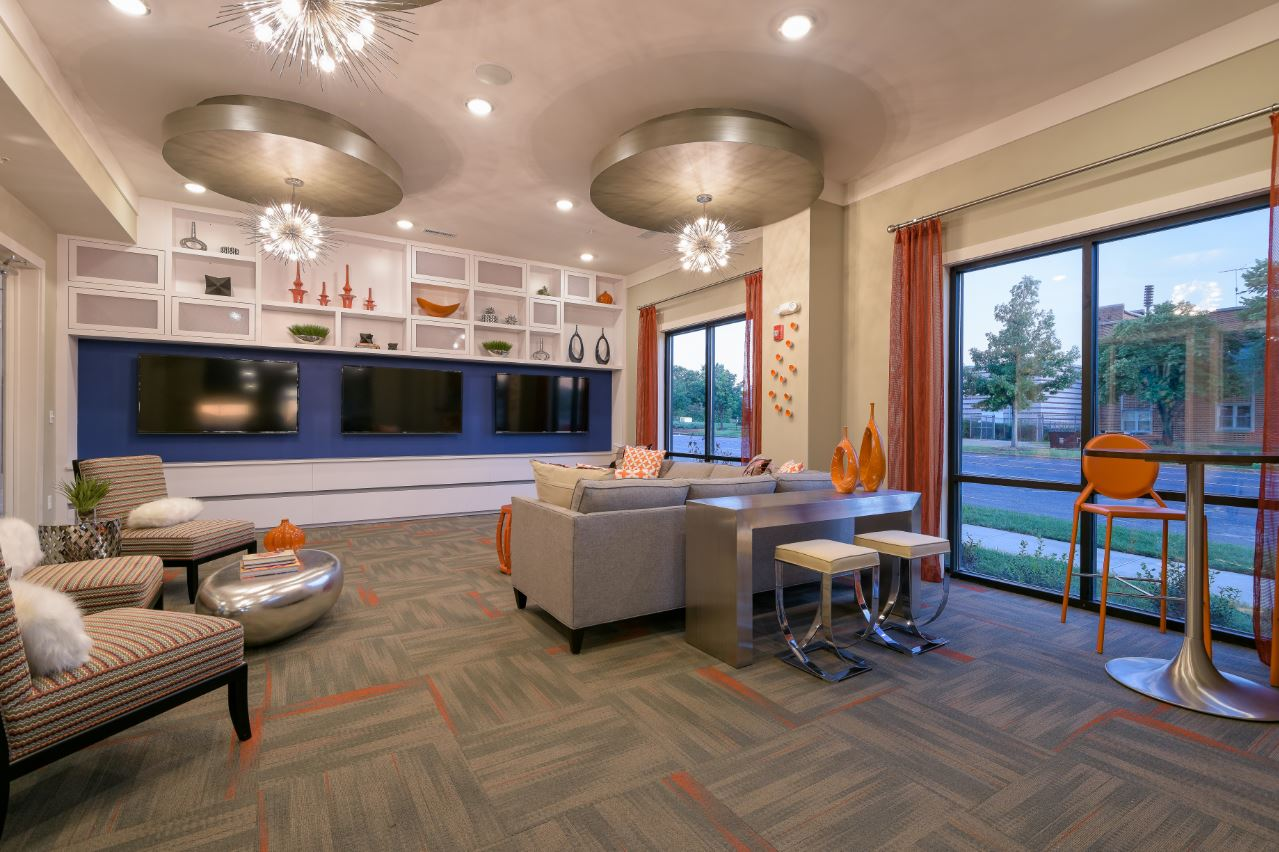 Collegiate Housing - Leasing Office & Amenity | Design